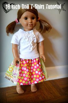 18-Inch Doll T-Shirt Tutorial