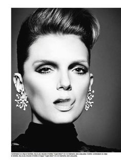 Lily Donaldson is Smoking Hot for Numéro #136, Lensed by Tom Munro