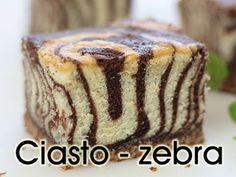 Hidden Zebra Pattern tutorial at: Ciasto zebra | PozytywnaKuchnia.pl