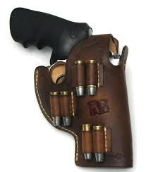 Holster with ammo on the side