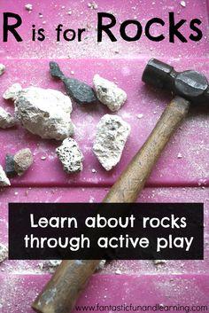Rock demo science fun for kids