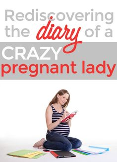 Hilariously embarrassing reflections on stupid things I wrote in my first pregnancy journal, by @RobynHTV on @momdotme! #motherhood #humor
