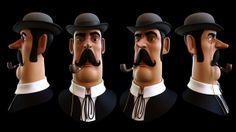 The Inspector. on Behance