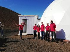 Mars food study researchers emerge from dome