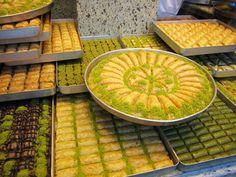 turkish cuisin, turkish baklava, baklava royalti, turkish style