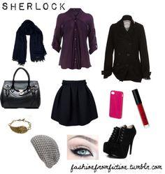 Sherlock Holmes Fashion