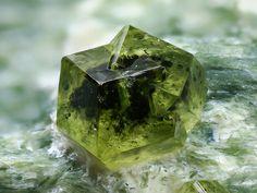 Demantoid Garnet #science #minerals