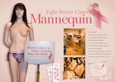 breast cancer window displays - Google Search