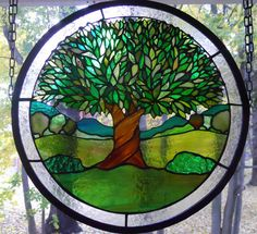 Stained Glass Tree Panel https://www.etsy.com/listing/178052207/stained-glass-tree-panel?ref=teams_post