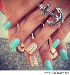 Love the nails love the ring
