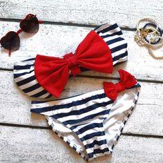 Patriotic bathing suit