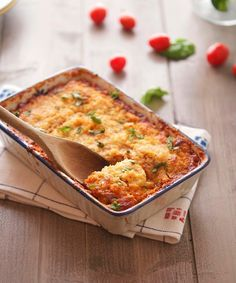 Roasted Eggplant and Tomato Gratin (Low Carb & Gluten-Free) - The Iron You