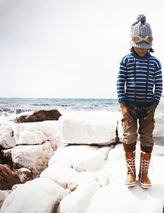 boys fashion, love the boots!