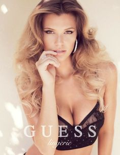 VISUELLE: Samantha Hoopes Sizzles In Guess Lingerie Spring 2014 Ads
