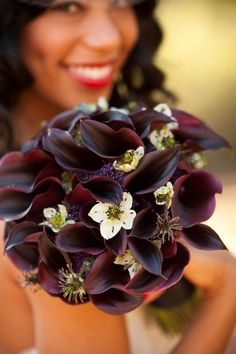 Bridesmaids: add more ivory flowers September  wedding colours Bouquet