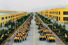 Edward Burtynsky from the series Manufacturing. This is China - the world's factory.