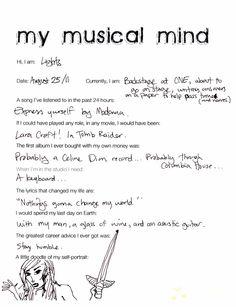 My Musical Mind: Lights