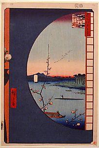 Small View of Yedo/Hiroshige Utagawa