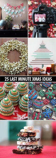 25 super easy last-minute Christmas ideas