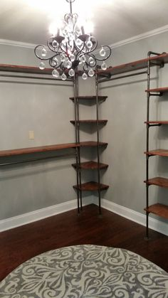 #closet  #diy #lowes.....Look at what Claudia and I did to our closet!