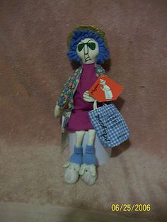 "14"" Maxine Cloth Doll /Hallmark with Hang-tag"