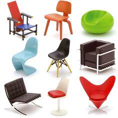 Individual Mini Designer Blind Box Chairs - Vol. 1