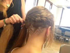 Star Haircut Designs Like  undercut hair long hairHaircut Designs For Girls
