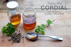 Valerian Mint Cordial for sleep - Herbal Academy of New England