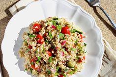 cous cous salad yum! school lunch idea
