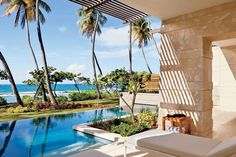 The view from a suite at the Ritz-Carlton Reserve Dorado Beach in Puerto Rico