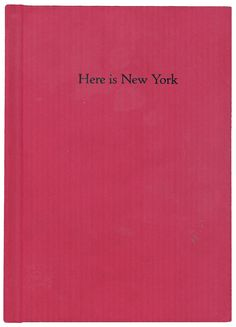 E.B. White, Here is New York, 1948