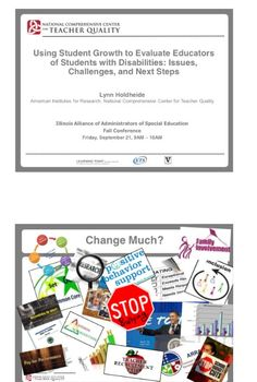 Illinois Alliance of Administrators of Special Education Fall Conference handout 9/12. Main Site http://www.iaase.org/static.asp?path=3938  Pinned by SOS Inc. Resources http://pinterest.com/sostherapy