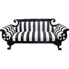 decor, stripe sette, black white, white sette, white stripe
