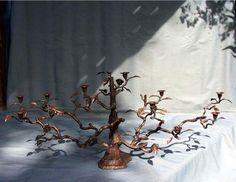 Rose Tree Candelabra
