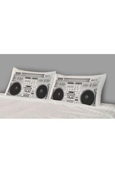 Rise and Fall Boombox Pillow