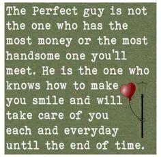 perfect guy, perfect man