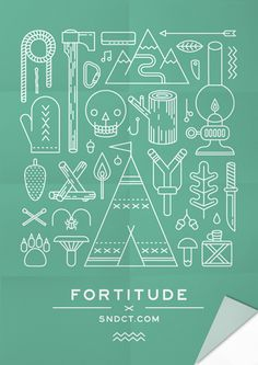 Posters for Syndicate Original by Ooli Mos, via Behance