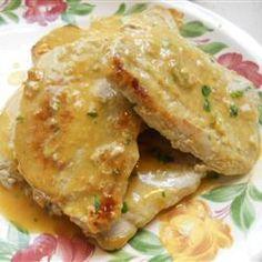 Honey Mustard Pork Chops Allrecipes.com