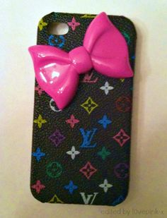 LV Bow iPhone Case
