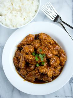 Take-Out, Fake-Out: Lightened Up General Tso Chicken