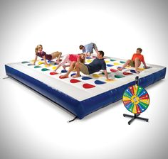 Massive Bouncy Twister Game