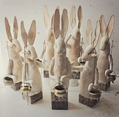 Halloween hares coming soon...By Mister Finch