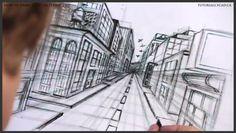colleges, free tutori, art, pender street, watch free, one point perspective, citi, tutori onlin, design