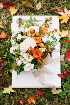 Fall wedding inspiration : Annabella Charles