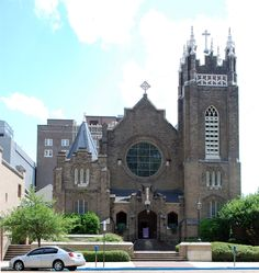 St. Andrew's Cathedral, downtown Jackson, MS