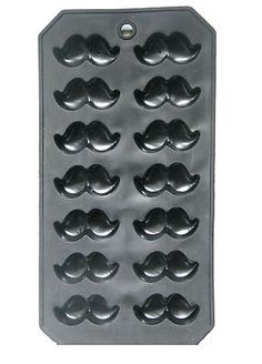 mustache mold for chocolate