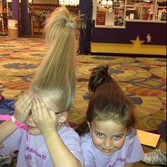 Whoville hair!!