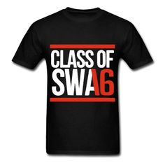 CLASS OF SWAG (2016) red with bands T-Shirt | Spreadshirt | SENIOR SHIRTS 2016