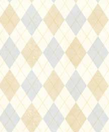 Argyle Wallpaper from Boys Rock by Warner Wallcoverings