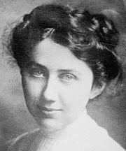 June 24, 1880:  Agnes Nestor is born. Nestor, who began working in a glove factory at age 14, helped to found the International Glove Workers Union and served in various leadership positions within the union from 1903-1948, including president.  She helped organize unions in other industries, campaigned for women's suffrage, a minimum wage, and maternity health legislation, and against child labor.